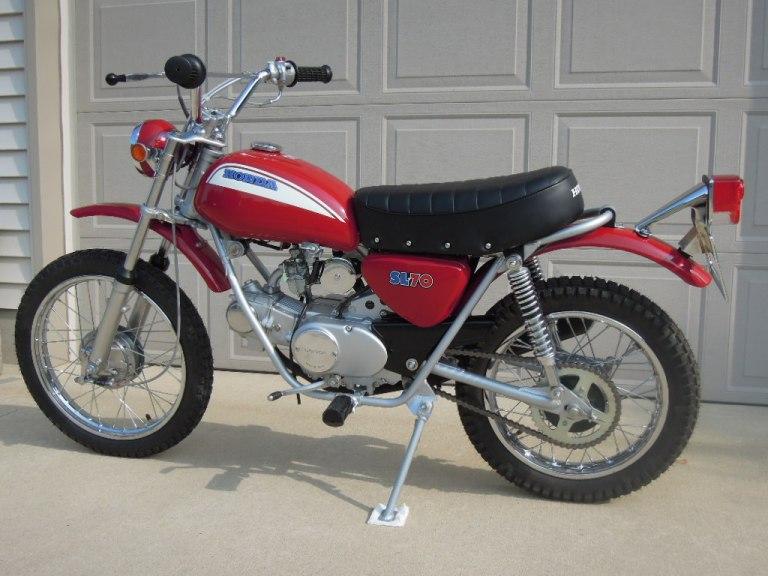 Honda-SL70-Left-Rear-Qtr